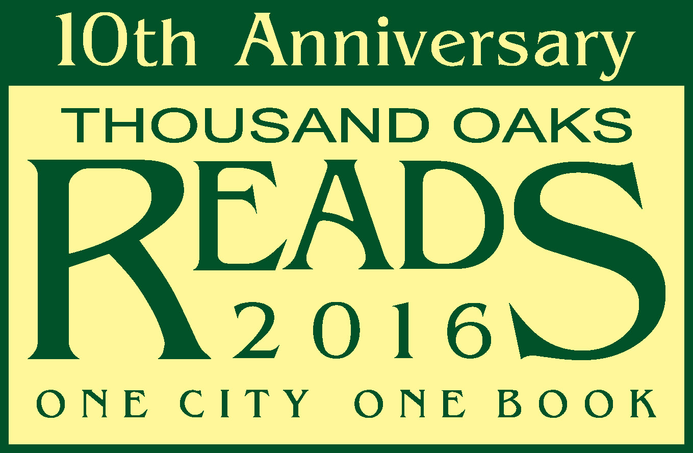 Thousand Oaks Reads 2016 - One City One Book
