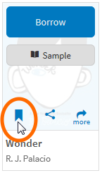 Wishlist ribbon button image
