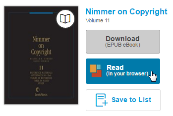 The read button next to a borrowed eBook on the checkouts page. See instructions above.
