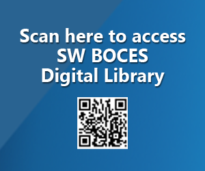 Scan here to access SW BOCES Digital Library