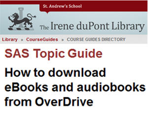 How to download eBooks and Audiobooks from OverDrive